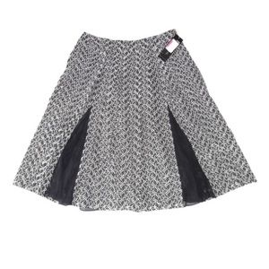 New Lafayette 148 Skirt Black White A Line